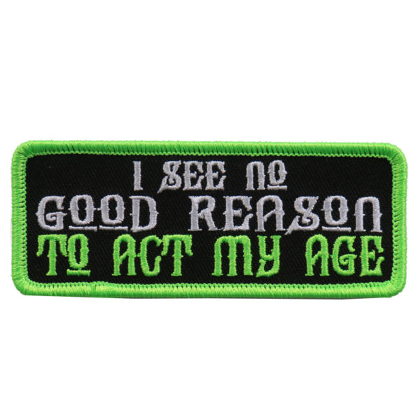 I see not reason...Patch 10cm/5cm