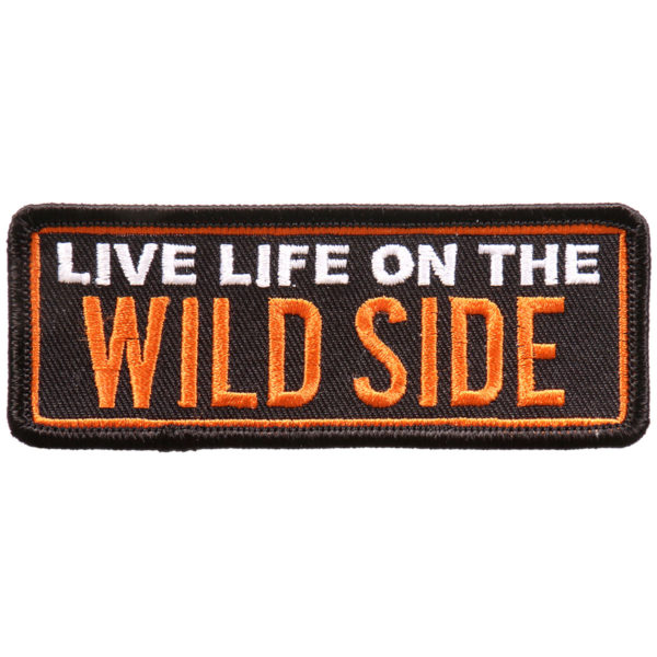 Live Life of the wild Patch 10cm/5cm