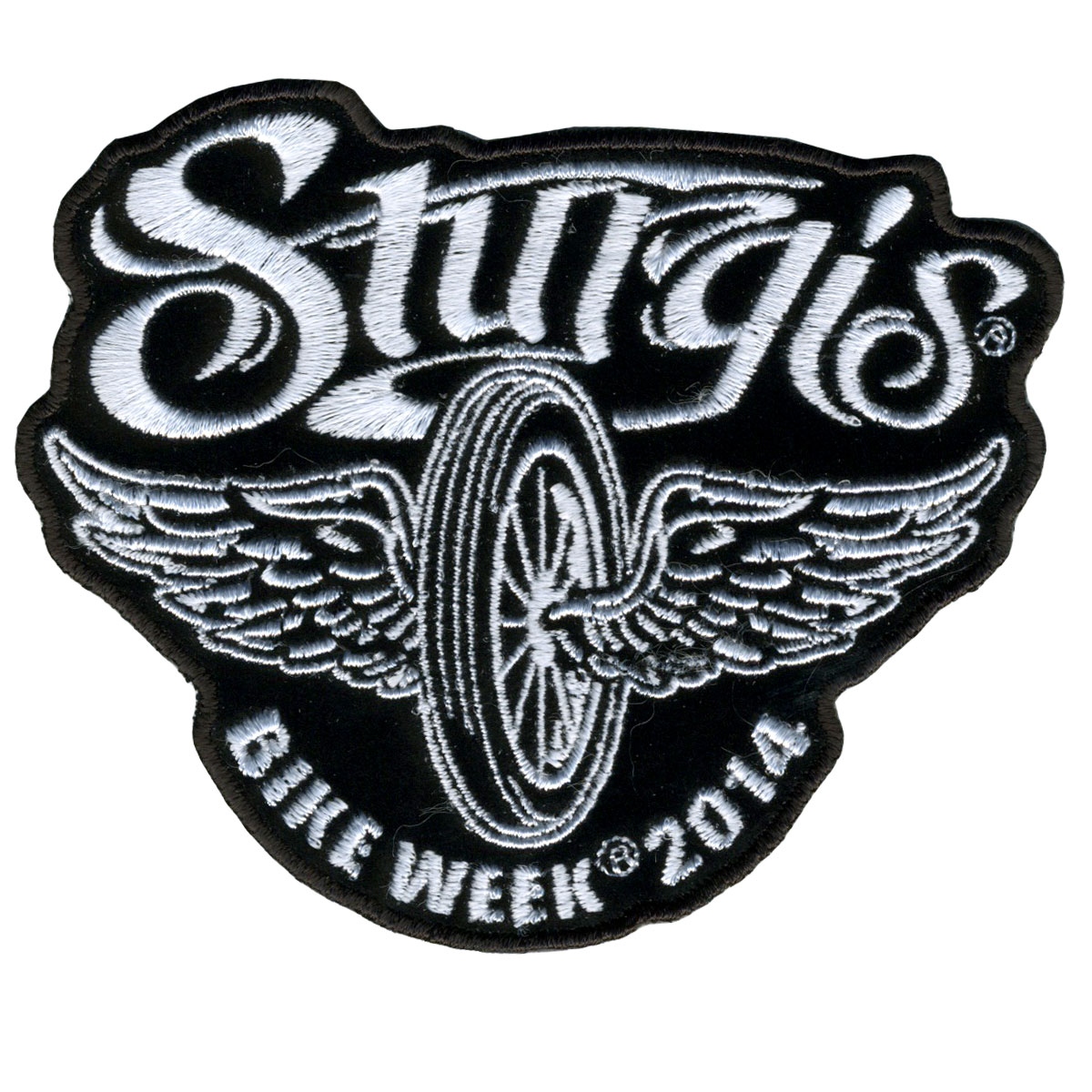 Sturgis Motorcycle Rally Flying Wheel Patch 10cm/10cm