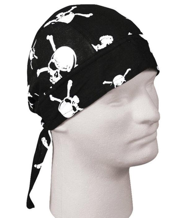 Bandana Skull & Crossbones