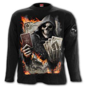 THE JOKER - Longsleeve T-Shirt Black
