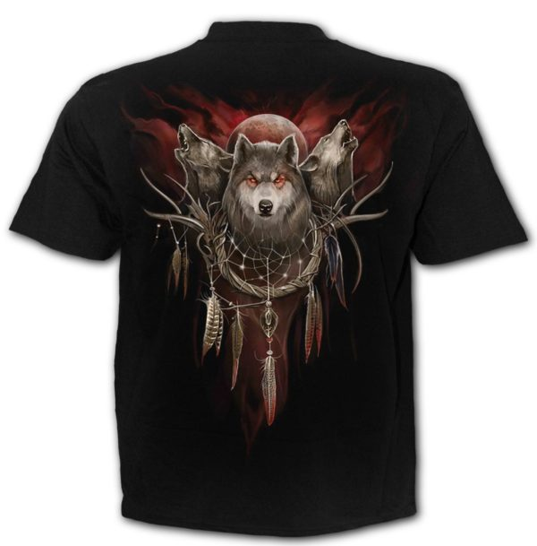 THE BEAUTY AND THE WOLVES - Tshirt Black