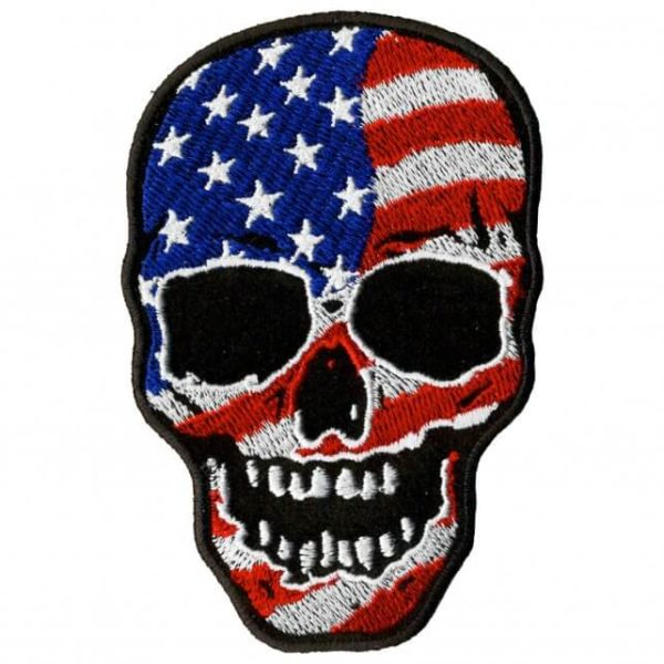 Big Skull Patch 10cm/7cm
