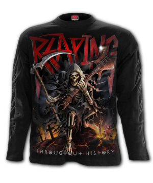 REAPING TOUR Longsleeve T-Shirt Black
